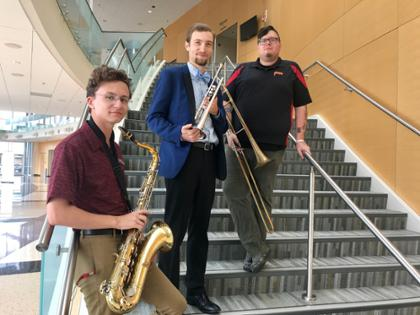 Jazz Ambassador students