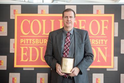 COE Award Derek Holmes