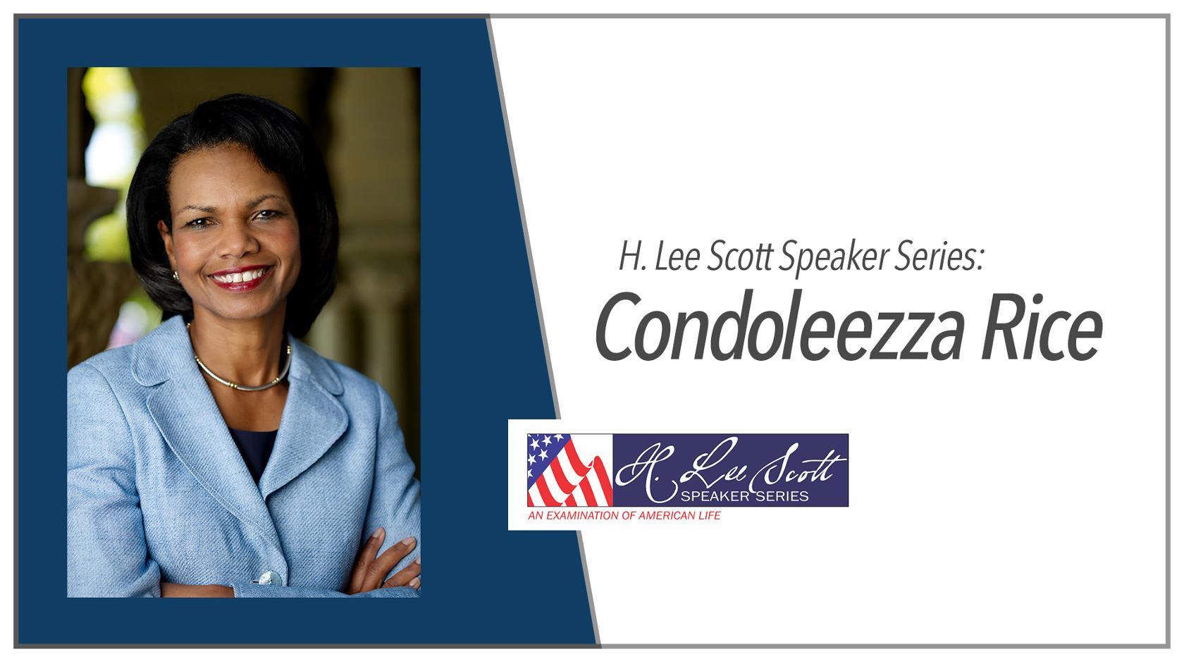 Condoleezza Rice banner
