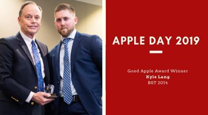 Good Apple Day Winner Kyle Lang