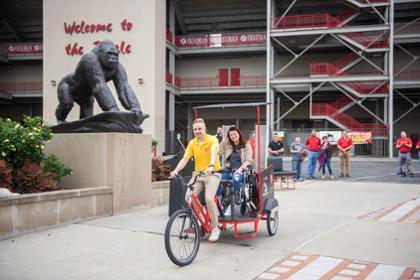 Pedicab finished